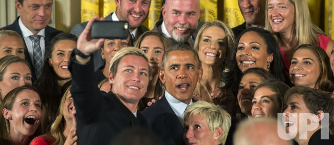 Obama Honors U.S. Women's 2015 World Cup Soccer Champs