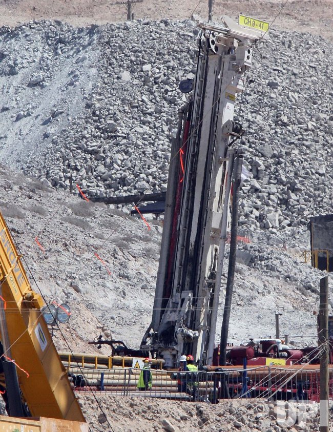 Trapped Miners in Chile Expect to be Rescued