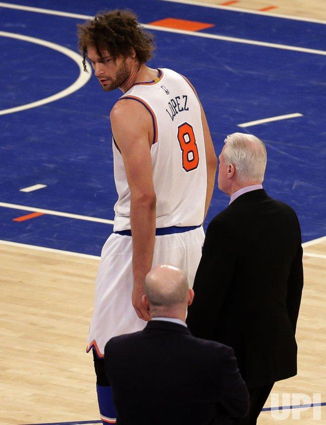 New York Knicks vs Charlotte Hornets at Madison Square Garden