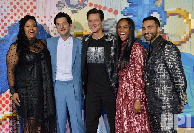 """Cast members attend a screening of """"Sonic the Hedgehog"""" in Los Angeles"""