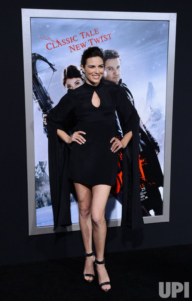 "Monique Ganderton attends the ""Hansel & Gretel: Witch Hunters"" premiere in Los Angeles"