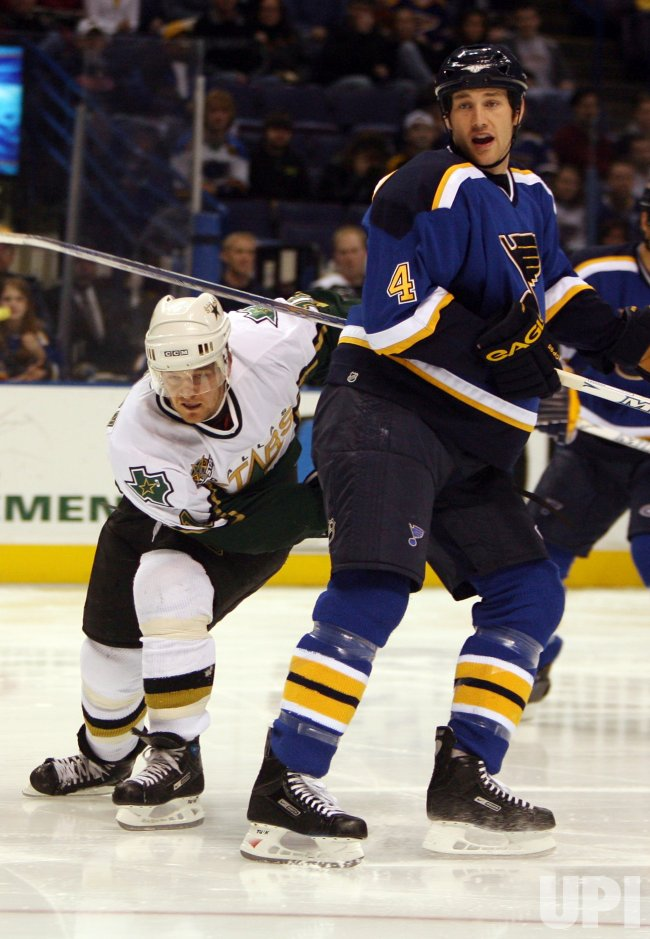 DALLAS STARS VS ST. LOUIS BLUES HOCKEY