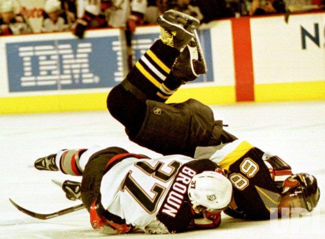 Buffalo Sabre vs The Penguins