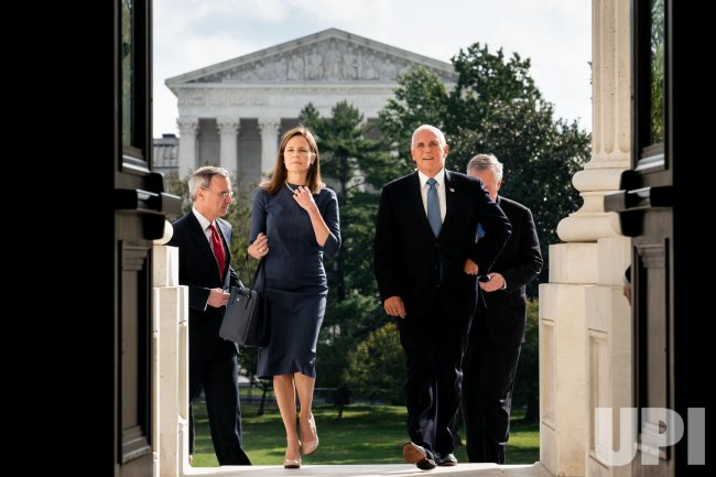 Judge Barrett Meets with Senators on Capitol Hill
