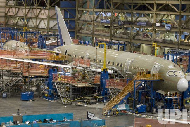 Boeing Dream Liner 787 Media Day in Everett