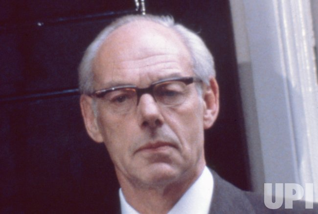 Major Sir Denis Thatcher Husband Of British Prime Minister