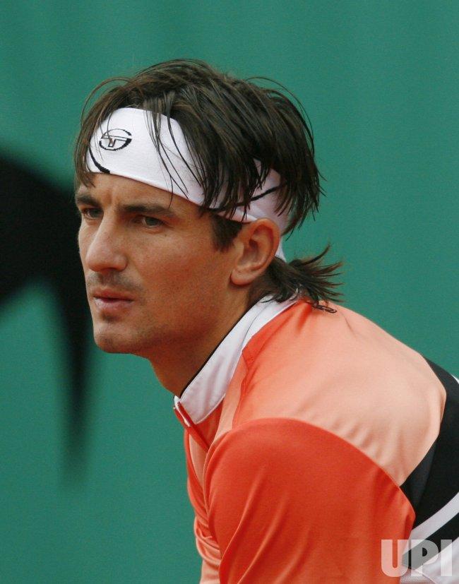 ROLAND GARROS TENNIS TOURNAMENT IN PARIS