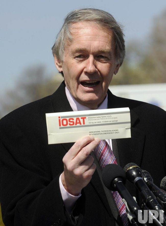 Rep. Markey calls for radiation pills to be distributed in United States