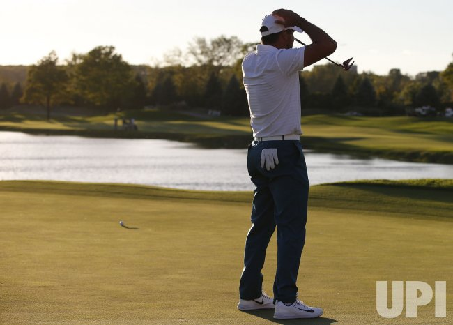 Marc Leishman Presidents Cup at Liberty National GC in NJ