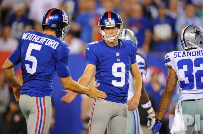 Giants vs Cowboys at MetLife Stadium in New Jersey