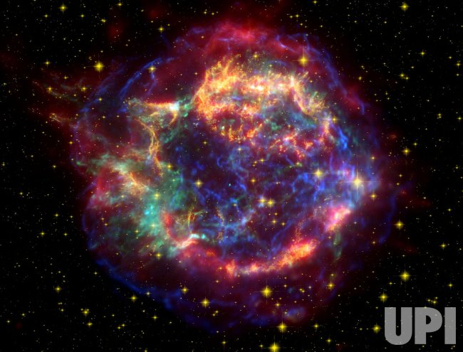 Supernova remnant of Cassiopeia A