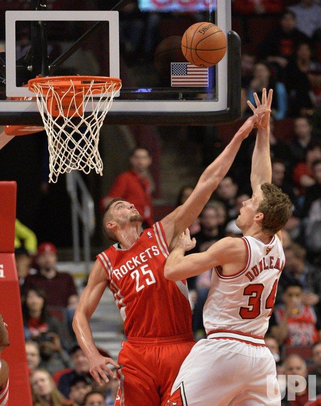 Houston Rockets vs. Chicago Bulls