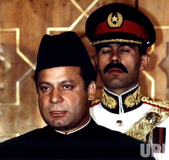 File-Pakistani Prime Minister Nawaz Sharif