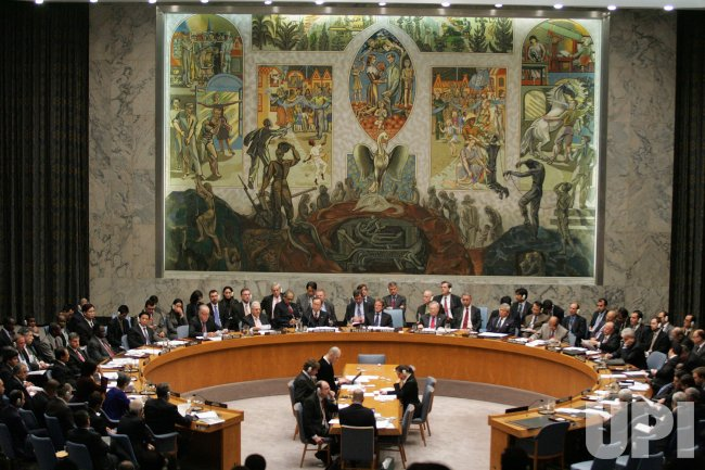 Security Council Meeting on Gaza at the United Nations in New York