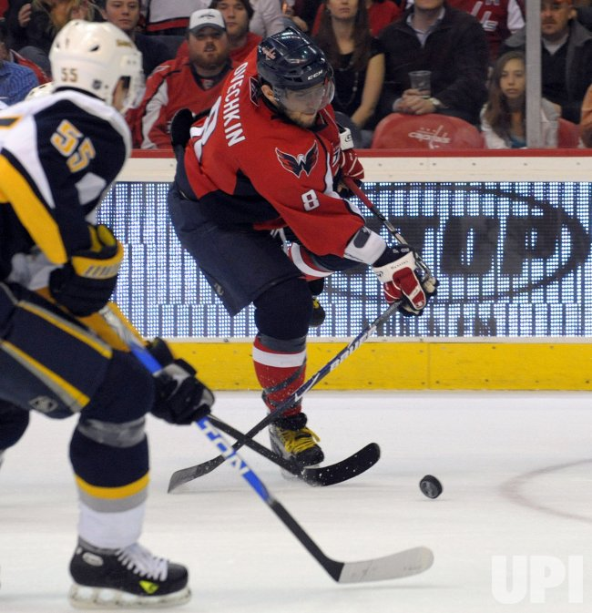 NHL Buffalo Sabres at Washington Capitals