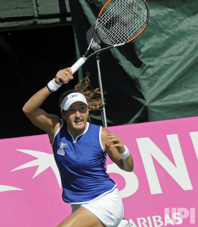Fed Cup World Group tennis in Israel