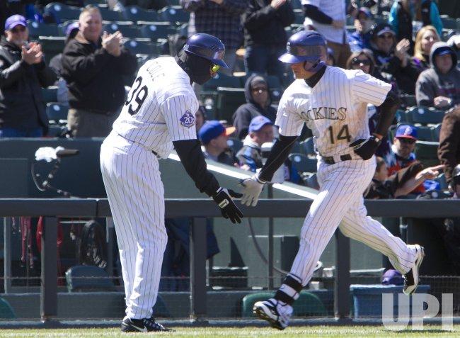 New York Mets vs Colorado Rockies in Denver
