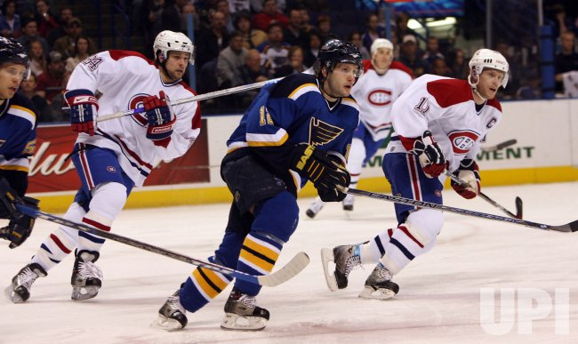 MONTREAL CANADIENS VS ST. LOUIS BLUES