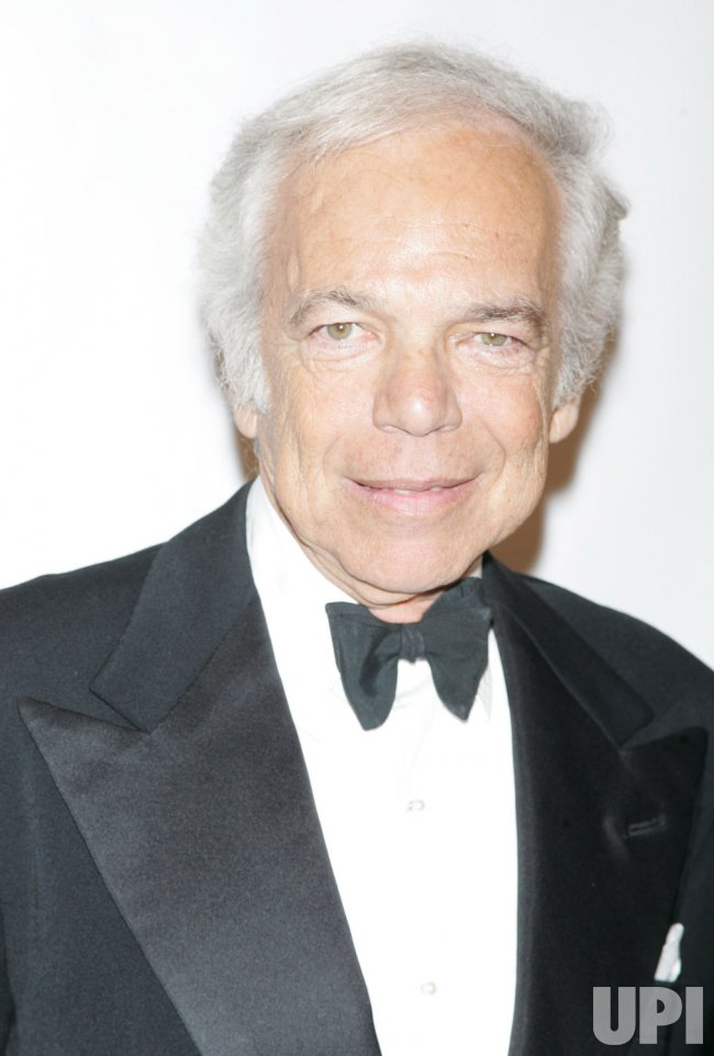 """Ralph Lauren arrives for the Museum of the Moving Image Salute to Clint Eastwood and Special Advance Screening of """"Invictus"""" in New York"""