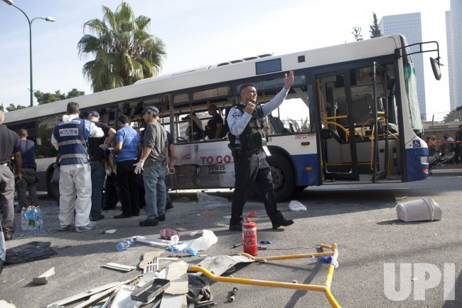 Bus Bombed in Tel Aviv As Gaza Conflict Continues