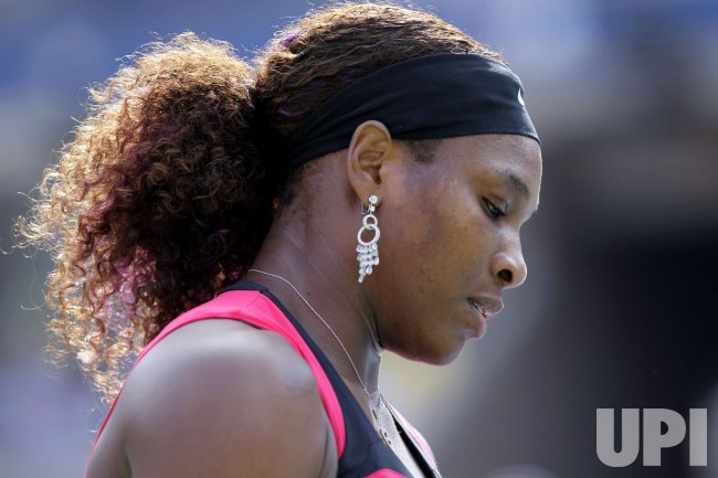 Serena Williams at the U.S. Open Tennis Championships in New York
