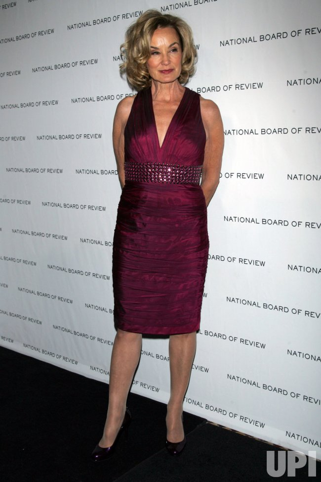 Jessica Lange arrives for the National Board of Review Awards Gala in New York