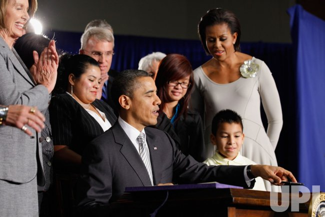 President, Mrs. Obama Speak At Healthy, Hunger-Free Kids Act Signing in Washington