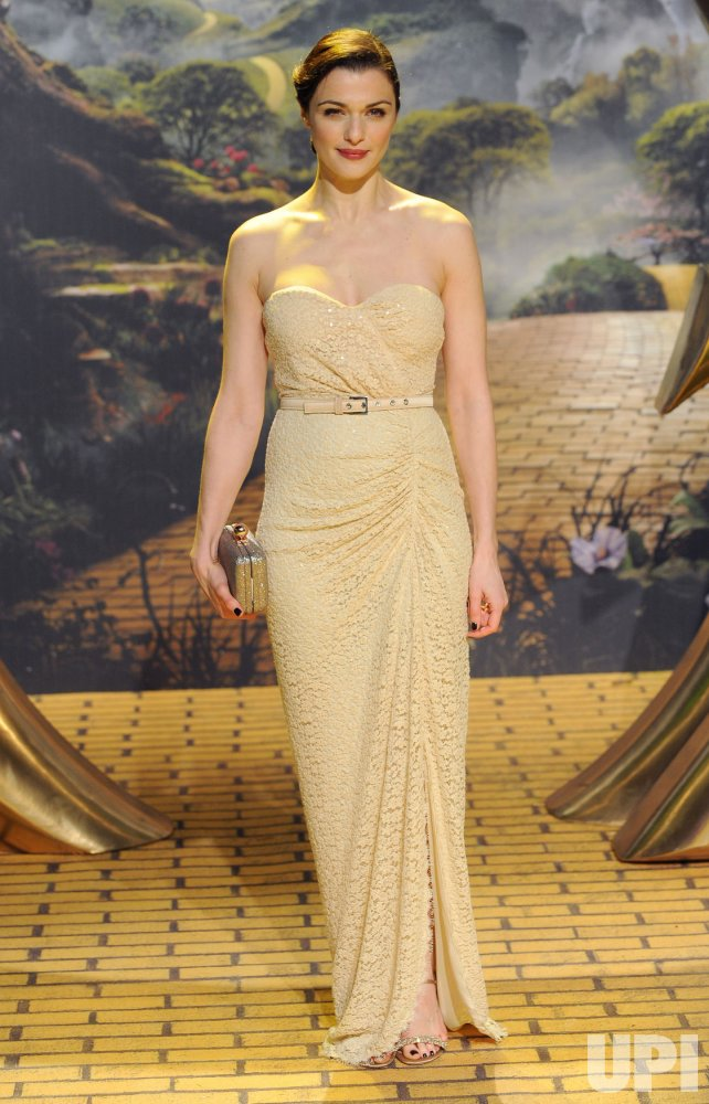 "The European premiere of ""Oz The Great And Powerful"" in London"