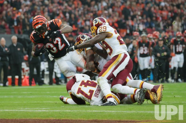 Washington Redskins Vs Cincinnati Bengals