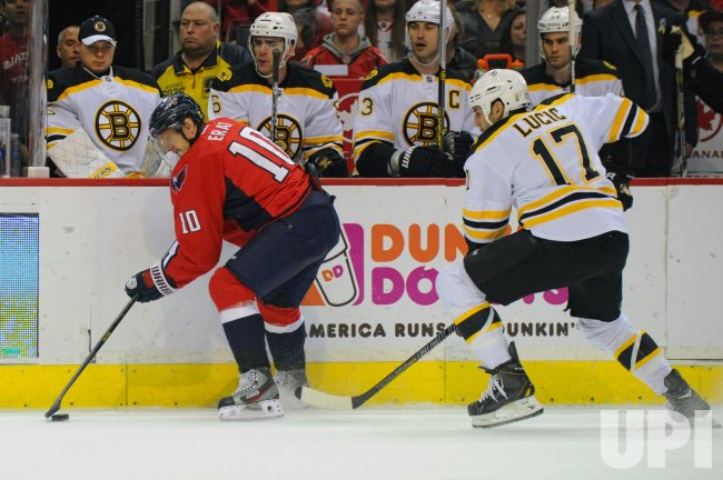 Washington Capitals vs Boston Bruins in Washington