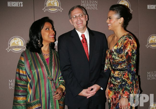 "Phylicia Rashad, David J. West and Paula Patton attend the ""Milton Hershey School"" Screening in New York"