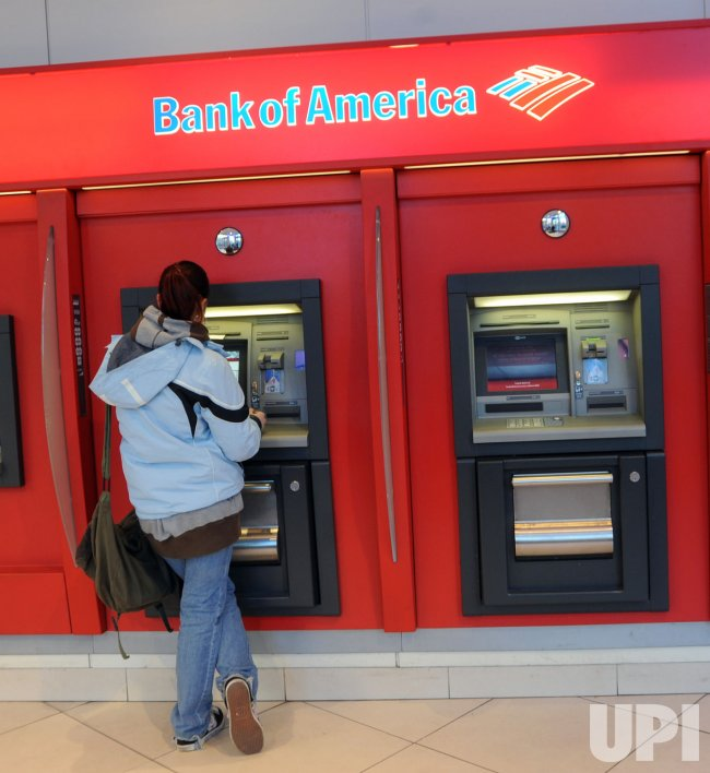 Bank of America ATM in New York