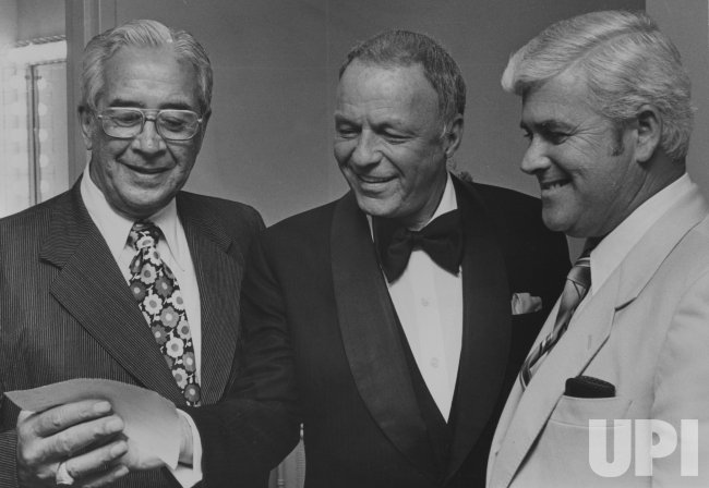 Frank Sinatra Presents Check to Atlantic City Medical Center Foundation