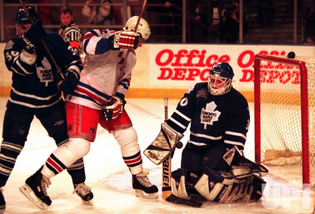 New York Rangers vs. Toronto Maple Leafs hockey