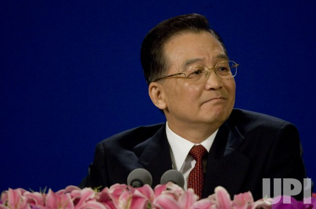 CHINA'S PRIME MINISTER HOLDS PRESS CONFERENCE IN BEIJING