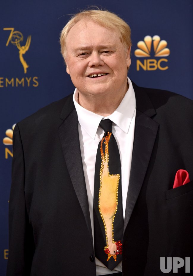 Louie Anderson attends the 70th annual Primetime Emmy Awards in Los Angeles