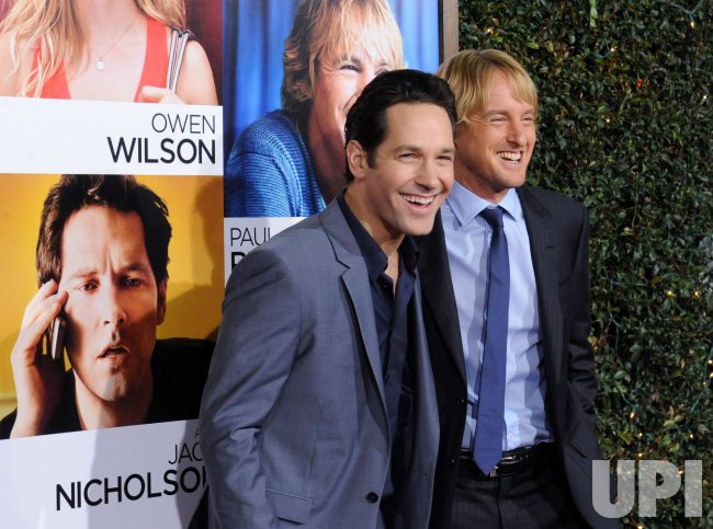 "Paul Rudd and Owen Wilson attend the ""How Do You Know"" premiere in Los Angeles"