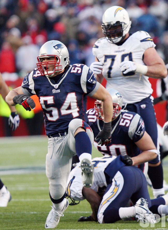 NFL AFC Championship San Diego Chargers vs New England Patriots