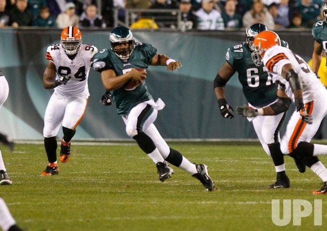 Cleveland Browns vs Philadelphia Eagles