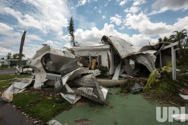 Naples Trailer Park Impacted by Hurricane Irma