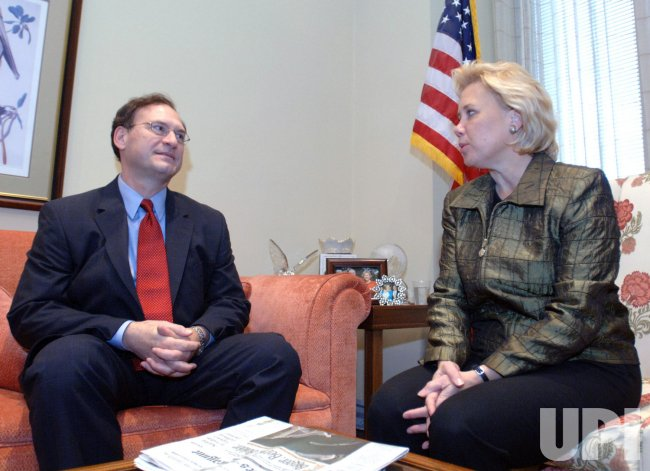 SUPREME COURT NOMINEE ALITO MEETS WITH SEN. LANDRIEU