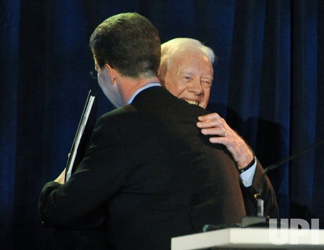 Former President Jimmy Carter is honored by Habitat for Humanity in Washington