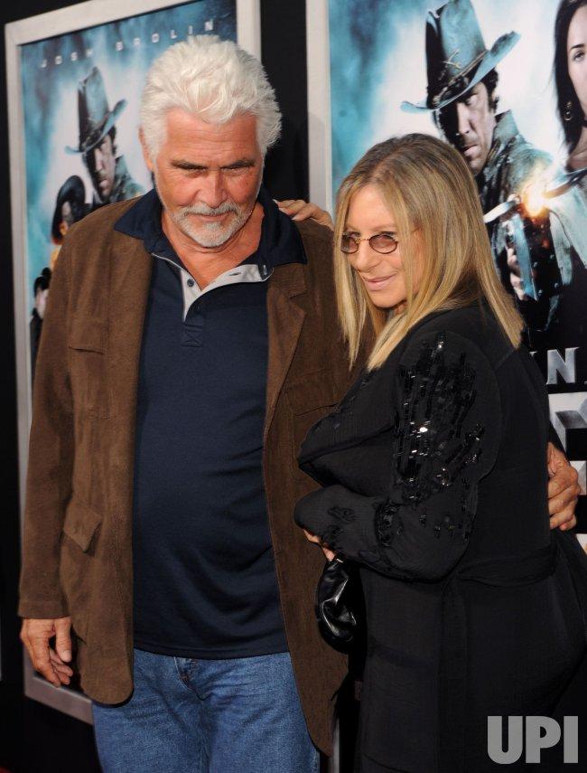 "James Brolin and Barbra Streisand attend the ""Jonah Hex"" premiere in Los Angeles"