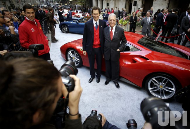 Ferrari begins trading at the NYSE