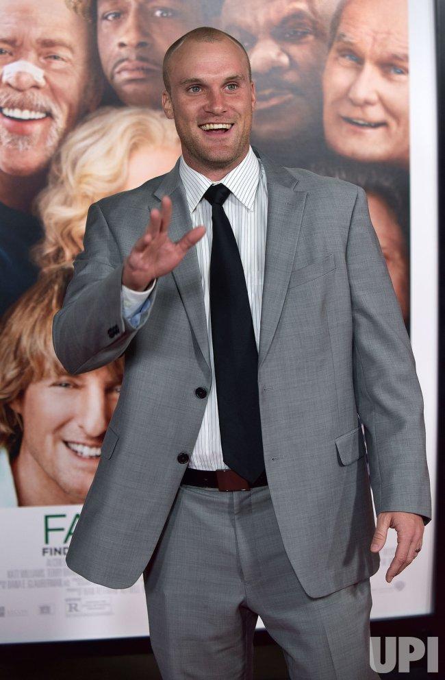 Greg Zuerlein attends 'Father Figures' premiere in Los Angeles