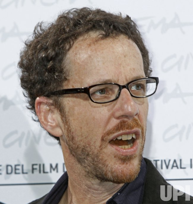 Ethan Coen arrives at a photocall during the Rome International Film Festival