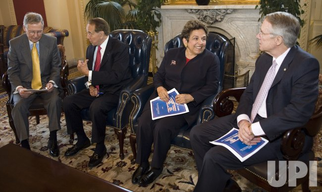 DOLE, SHALALA, REID, MCCONNELL DISCUSS HEALTH CARE FOR VETERANS IN WASHINGTON