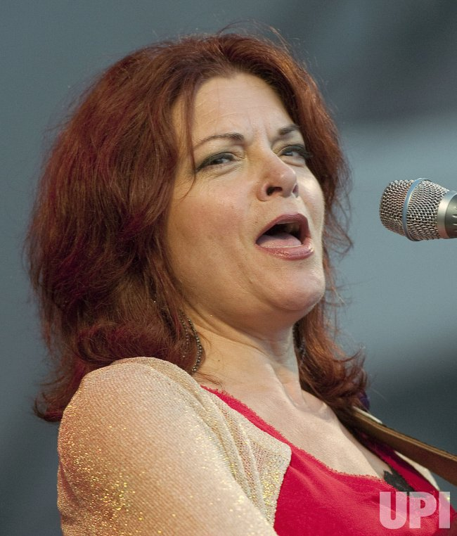 Rosanne Cash performs at the 2011 Vancouver Folk Music Festival