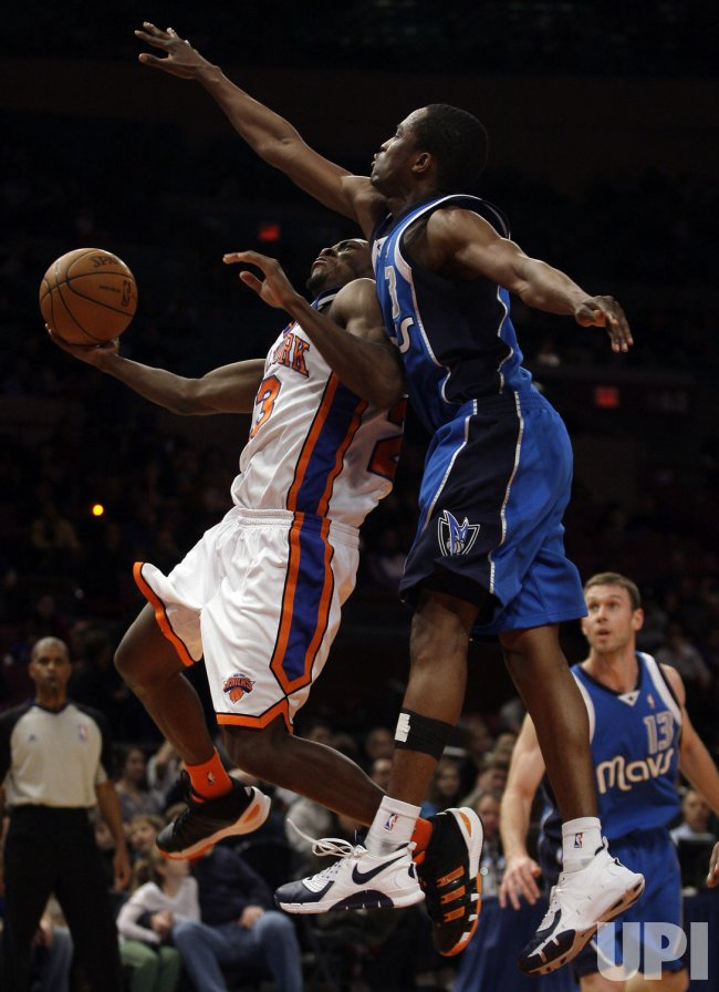 New York Knicks Toney Douglas at Madison Square Garden in New York