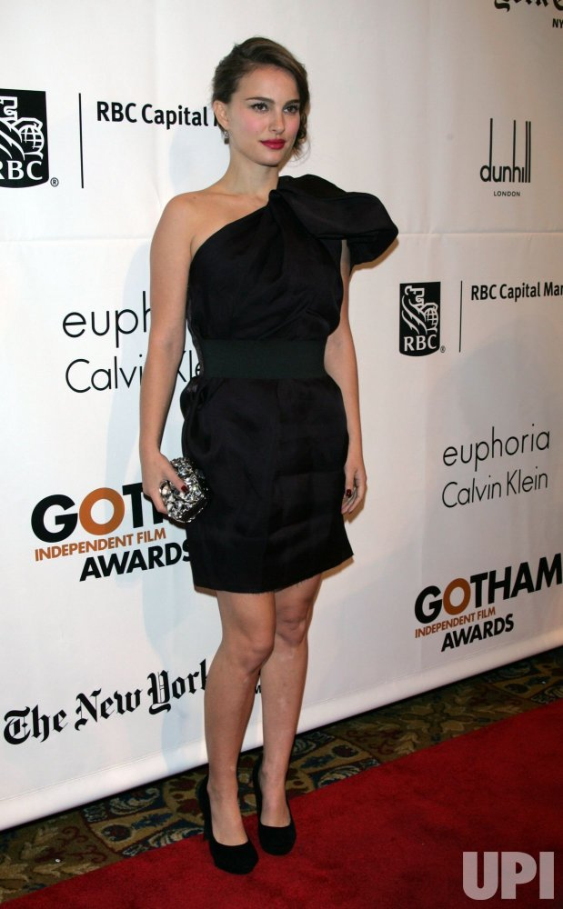 Natalie Portman arrives for the 20th Anniversary of the Gotham Independent Film Awards in New York